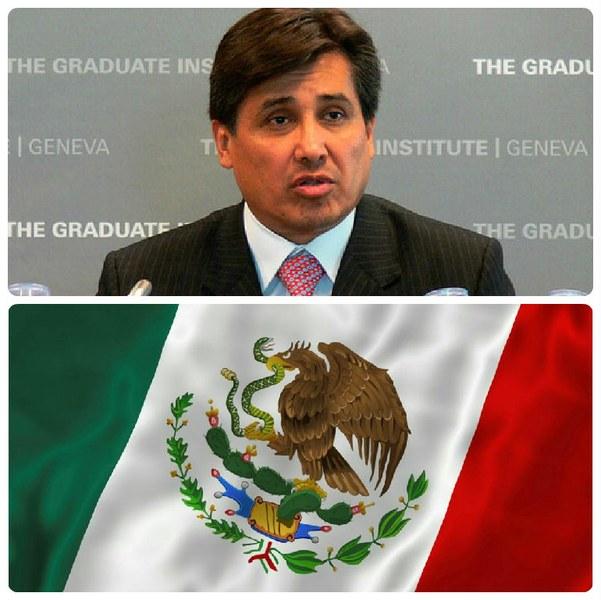 Visite de l'Ambassadeur du Mexique