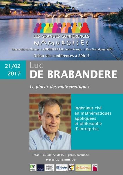 GCN: Le plaisir des mathématiques - Luc DE BRABANDERE