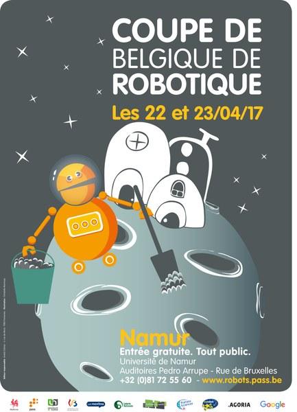 ROBOTIX'S 2017 (Coupe de Belgique de robotique)
