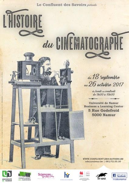 Exposition : L'Histoire du Cinématographe