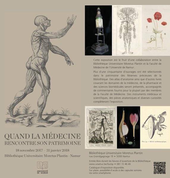 Exposition - Quand la médecine rencontre son patrimoine