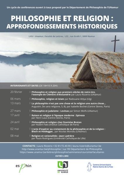 Religion et rationalités : Jean Ladrière