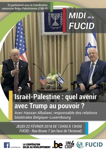 Midi FUCID: Israël-Palestine:quel avenir avec Trump au pouvoir ?