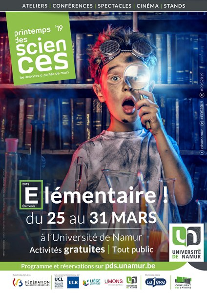 Printemps des Sciences 2019