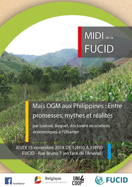 Midis de la FUCID : Maïs OGM aux Philippines