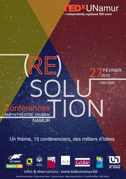 TEDx UNamur 2019 - (RE)SOLUTION