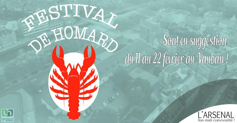 Festival de Homard au restaurant Le Vauban