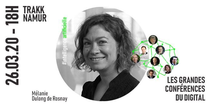 REPORTE   Grandes Conférences du Digital - Mélanie Dulong de Rosnay