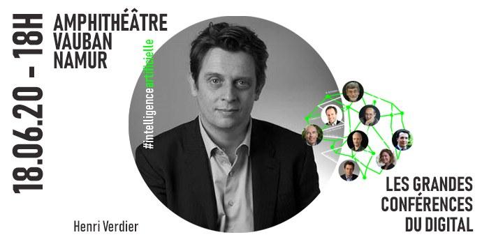 Grandes Conférences du Digital - Henri Verdier