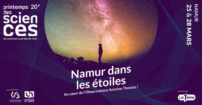 ANNULÉ [Printemps des Sciences] - Namur dans les étoiles