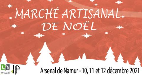 Marché artisanal de Noël de l'Arsenal 2021