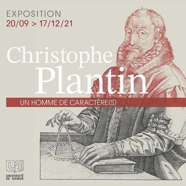 """Exposition """"Christophe Plantin. Un homme de caractère(s)"""""""