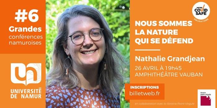 #6 - Grande Conférence Namuroise - Nathalie Grandjean