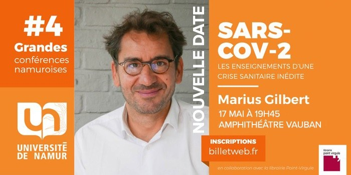 #4 - Grande Conférence Namuroise - Marius Gilbert