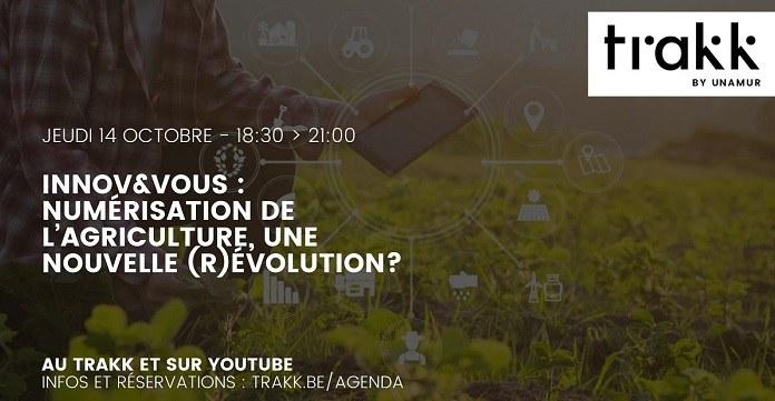 Innov&Vous : Numérisation de l'agriculture, une nouvelle (r)évolution?